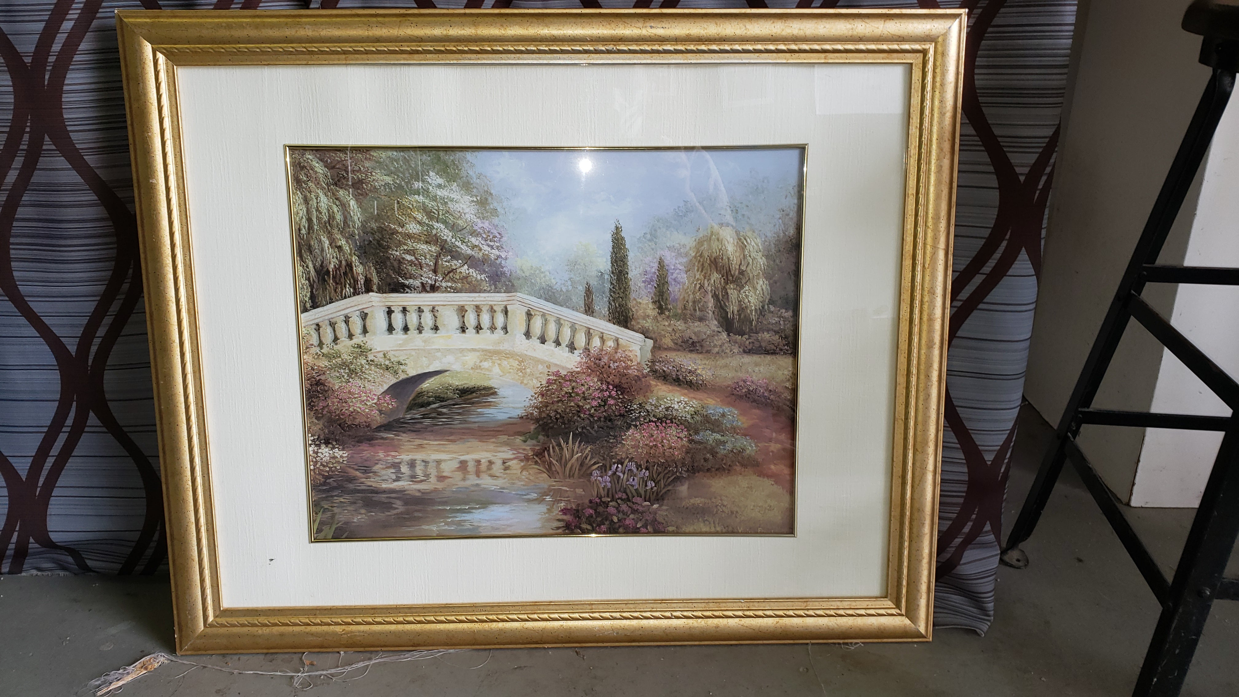 Framed and Matted Landscape Print - Macomb County ReStores