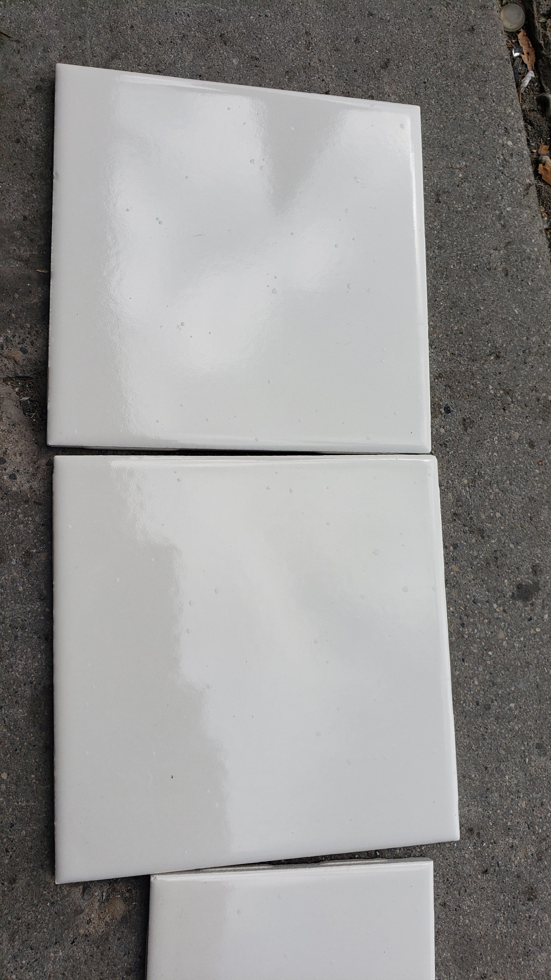 "Wall Tile 4"" x 4"" Biscuit Gloss Ceramic (10 sq ft in a box) 86 boxes available - Macomb County ReStores"