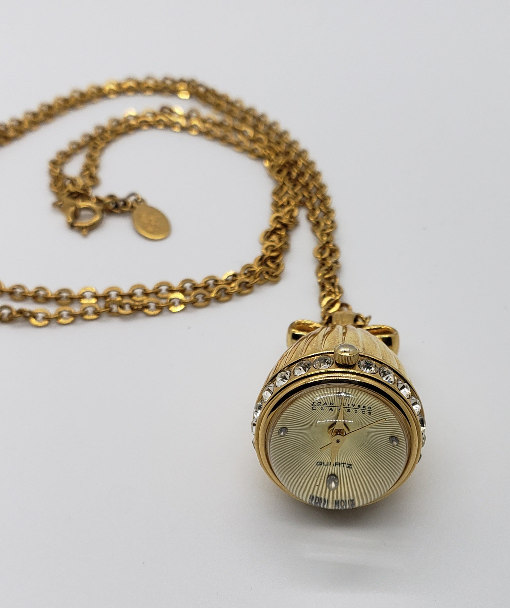 "Joan Rivers Watch Necklace 30"" - Macomb County ReStores"