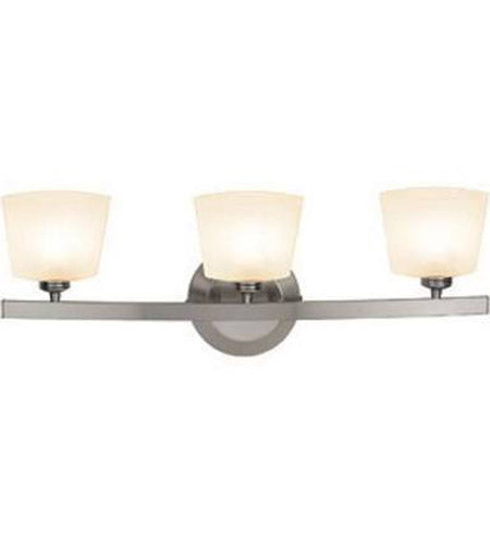 *NEW* Access Lighting Sydney 3 Light Matte Chrome Vanity Wall Light - Macomb County ReStores