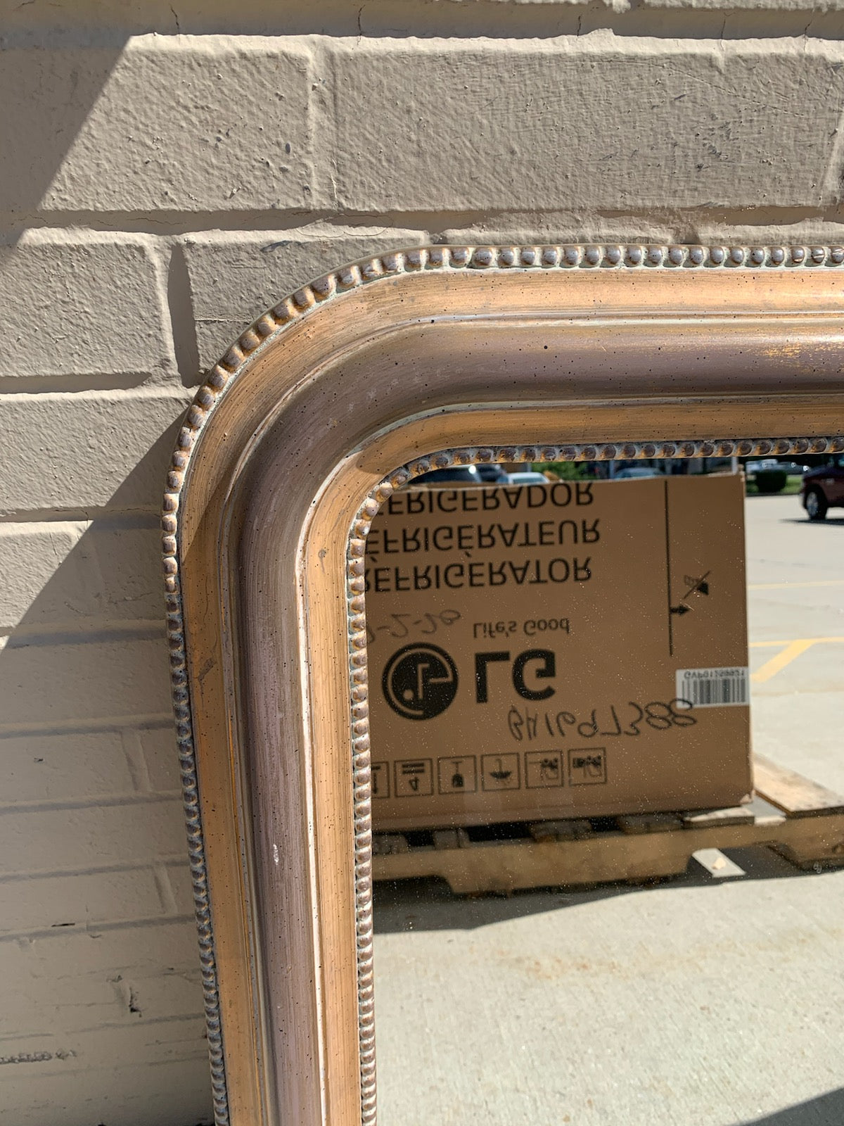 Distressed Mirror by Ballard Designs - Macomb County ReStores