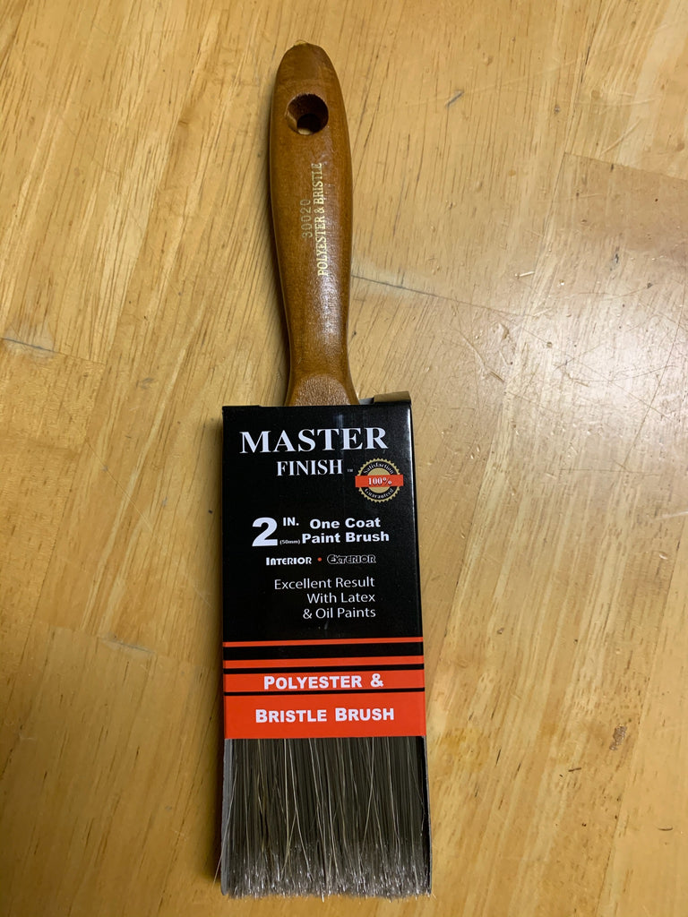 "*NEW* 2"" Master Finish One Coat Paint Brush (12 Available) - Macomb County ReStores"