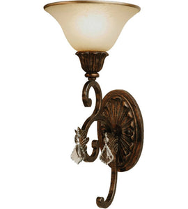 *NEW* Artcraft Florence Multi Tone Bronze Wall Light - Macomb County ReStores