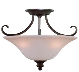 *NEW* Jerimiah Lighting 3 Light Bowl Pendant Light from the Linden Lane Collection - Macomb County ReStores