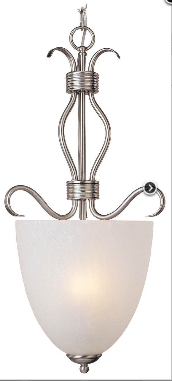 *NEW* Maxim Lighting Satin Nickel Pendant Light - Macomb County ReStores