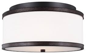 *NEW* Feiss Marteau 5 Light 30 inch Oil Rubbed Bronze Semi-Flush Mount Ceiling Light - Macomb County ReStores