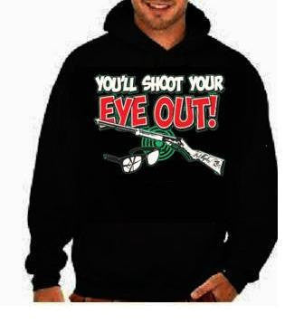 hoodies:youll shot your eyes out guns hoodie sweater shirt hoody