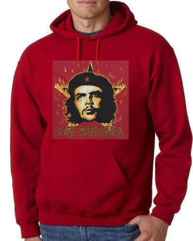 hoodie CHE GUEVARA - FLAMES cute hoodies shirt movies  hoody  shirt hoodies