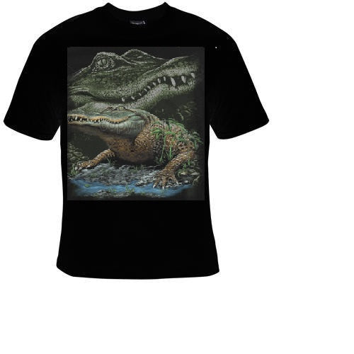 gator in swamp Tshirts cool funny t shirt animals gators