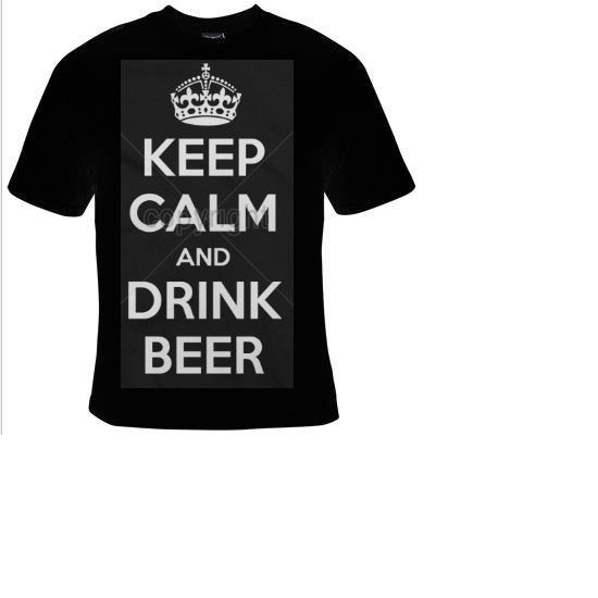 keep calm and drink beer Tshirts funny coolest  t shirt  design