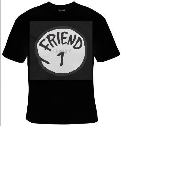 friend one Tshirts cool funny t shirt friends one