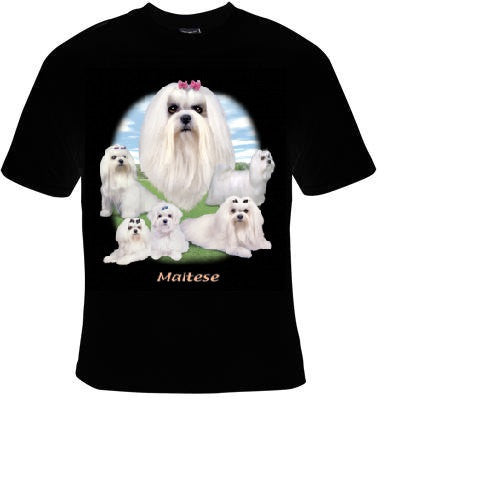 maltese dog cute pets animal cool funny  T-shirts dogs puppies