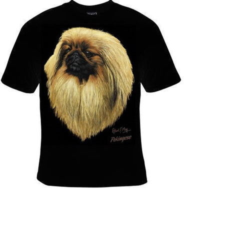 pekingese dog cute cool T-shirts tee t shirt dogs puppies lovers pets