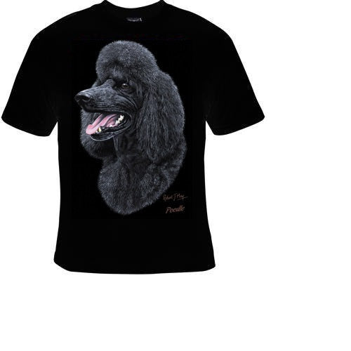 poodle dog cute cool funny  T-shirts tee t shirt
