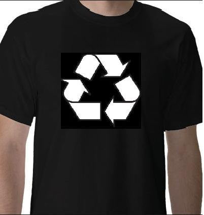 recycle Cool Funny Humor Shirt  Tee Rude Tee Offensive T-Shirt Offensive t-shirts recycle logo