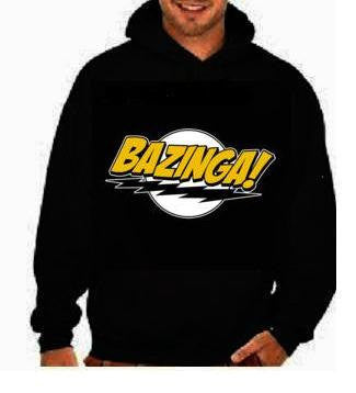 bazinga movies cute hoodies shirt black  hoody  shirt hoodie unisex