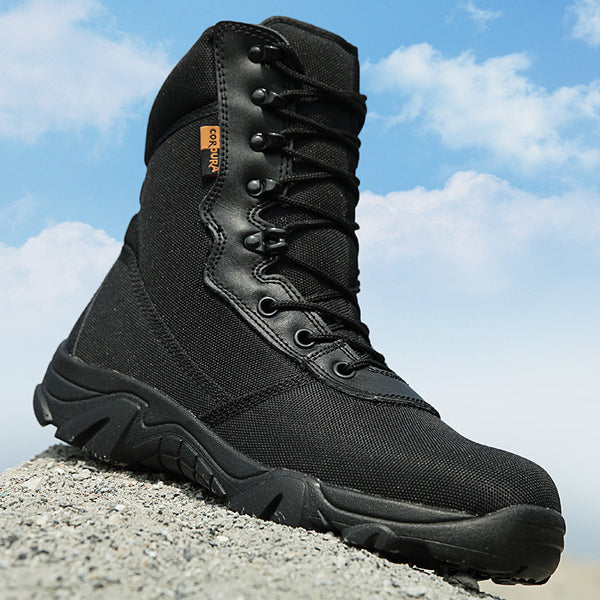 2016 New Outdoor Military Tactical Combat Boots Sport Army Men Ankle Desert Boots Botas Autumn Winter Travel Hiking Shoes O1570