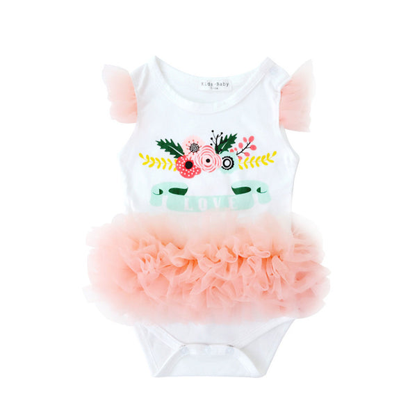 0-18M Summer Sleeveless Baby Bodysuits Cotton Kids Clothes Costume Children Clothing Cute Overalls New Born Next Girl Jumpsuits