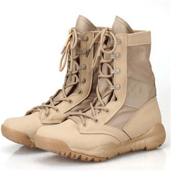 2016 Army combat male shoes autumn and winter boots tactical military desert boots Free shipping