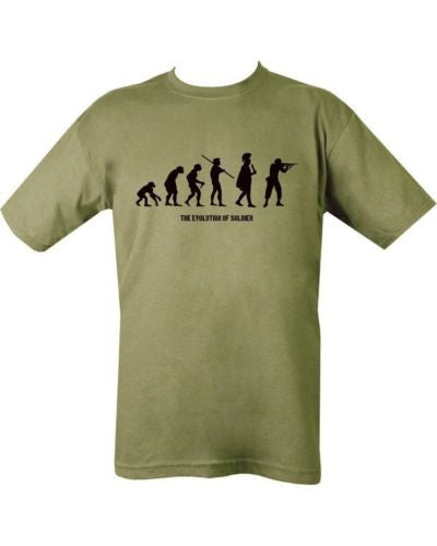 MILITARY Evolution of a Soldier T Shirt Unisex Special Air Service US Marines SAS Army USMC Tops Tee Shirts Men Women T-shirt
