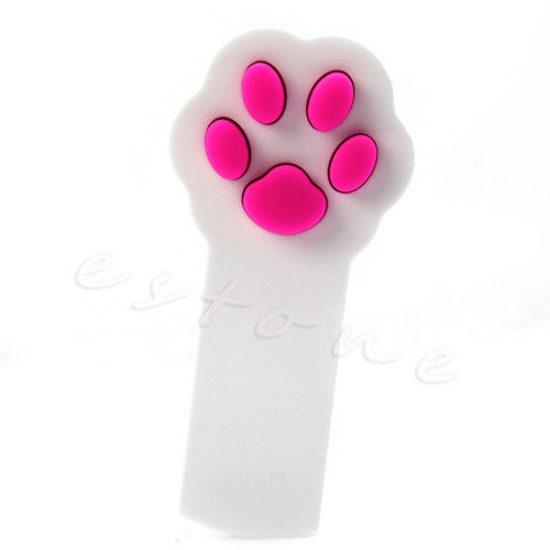 1Pc New Cat Claw Beam Interactive Laser Pointer Pet Cat Dog Amusement Toy