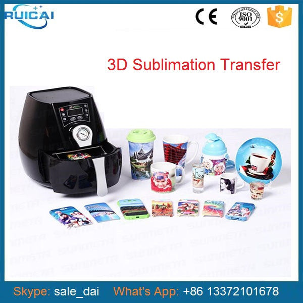 Mini 3D  Vacuum Machine Heat Press Machine 3D Mug Printer Phone Case Printer Mug Press T shirt Printer