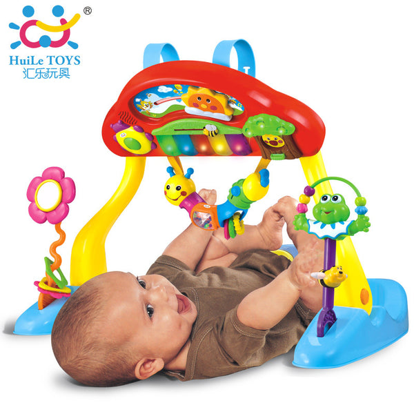 0-3 Years Baby Play Mat Deluxe Music Activity Gym and Crib Soother, Musical Melodius, Light, Keyboard and Much More Baby Toy New