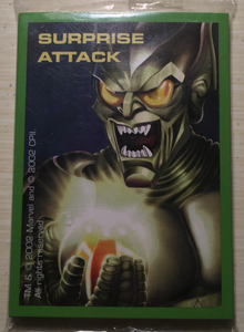 Spider-Man vs. The Green Goblin Surprise Attack Replacement Cards