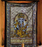 Ganesha Cotton Tapestry