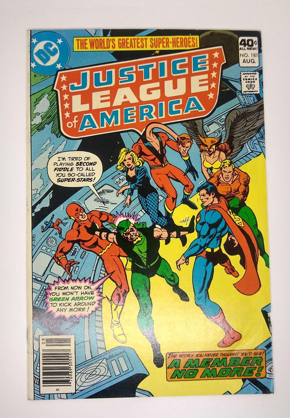 Justice League of America (Issue #181)