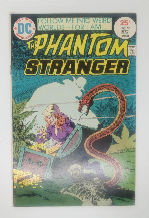 The Phantom Stranger (Issue #36)
