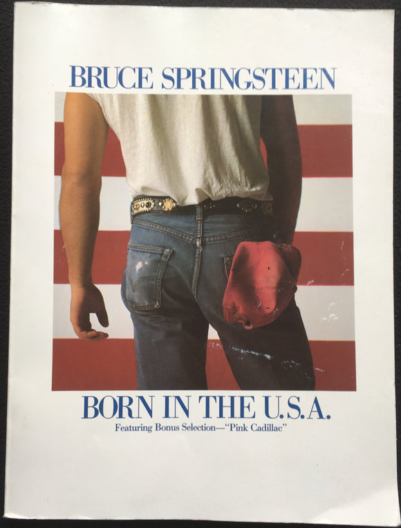 Bruce Springsteen Born in the U.S.A. Sheet Music Book