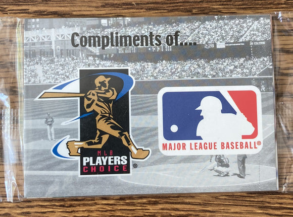 Official MLB Trading Cards