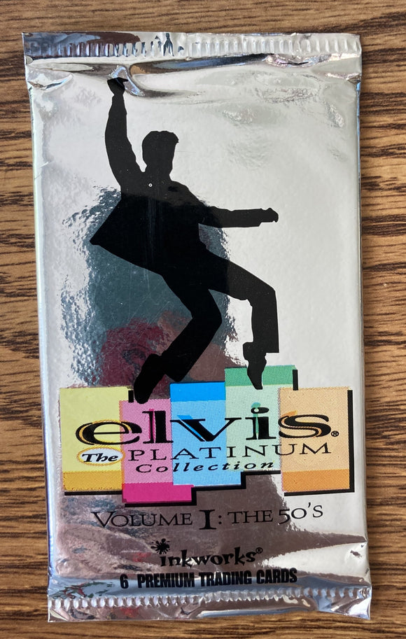 Elvis: Platinum Collection The 50's Trading Cards