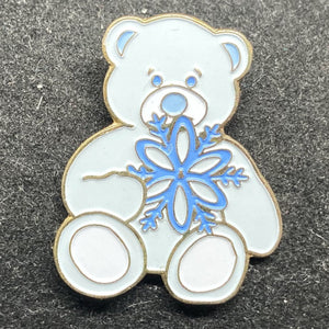 Build-a-Bear Winter Bear Pin