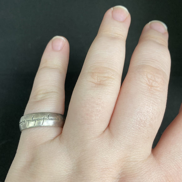 Sterling Silver One Ring