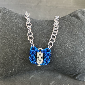 TARDIS Tag Necklace