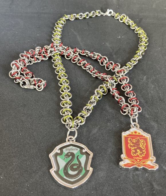 Hogwarts House Pride Necklaces