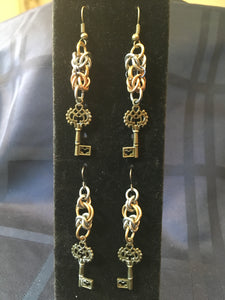 Elegant Steampunk Earrings