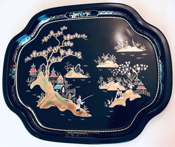 Oriental Motif Elite Trays