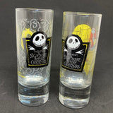 Jack and Sally Tall Shot Glasses
