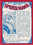 Spider-Man: 30th Anniversary 1962-1992 Trading Cards