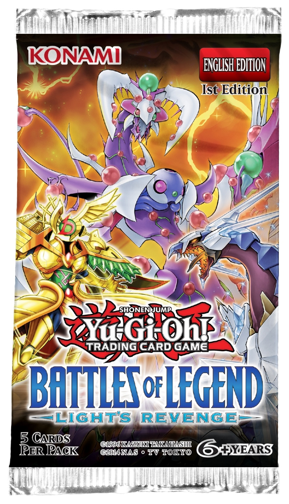 Battles of Legend: Light's Revenge Yu-Gi-Oh! Boooster Pack