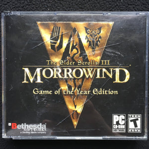Elder Scrolls III: Morrowind Game of the Year Edition