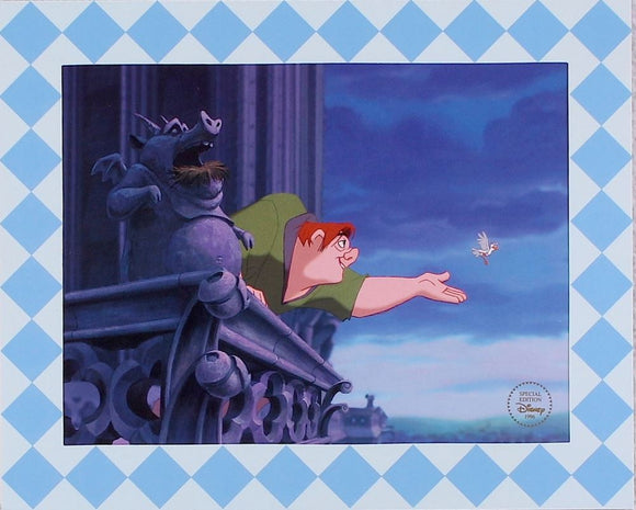 The Hunchback of Notre Dame Special Edition Lithograph