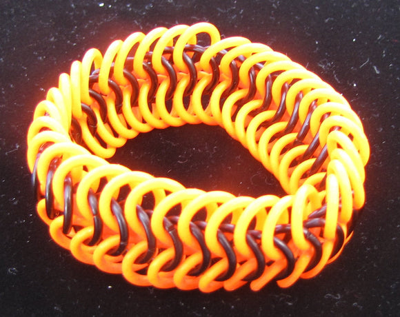 Glow-in-the-Dark Wide Stretch Bracelet