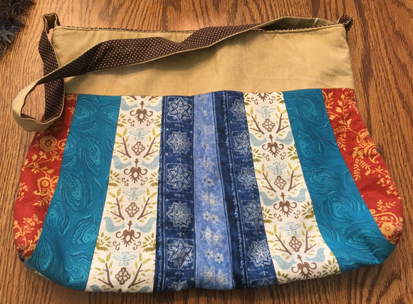 Quilted Stripes Purse