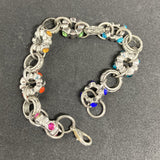 Rainbow Wheels Bracelet