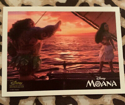Moana Disney Movie Club Limited Editon Lithograph