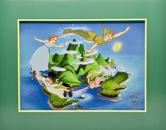 Peter Pan Commemorative Lithograph